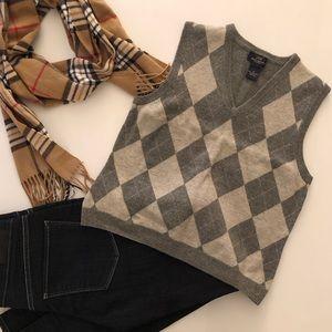 Wool Vest - Brooks Brothers